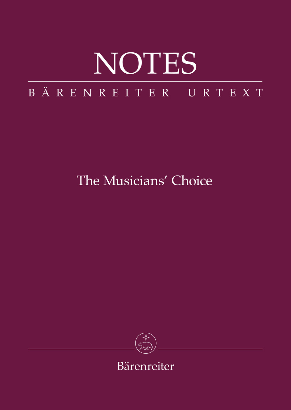 Bärenreiter Notes (fialový)