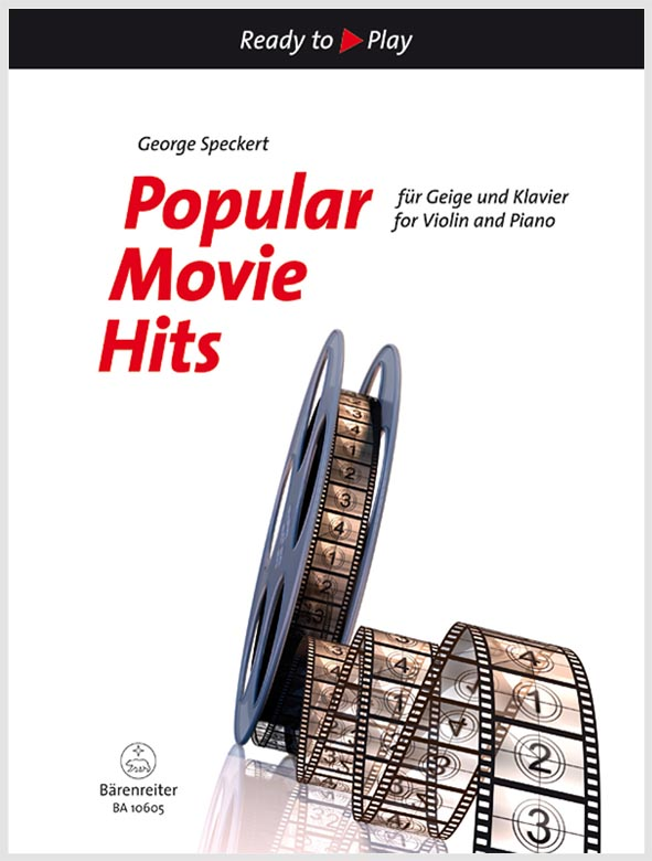 Popular Movie Hits pro housle a klavír
