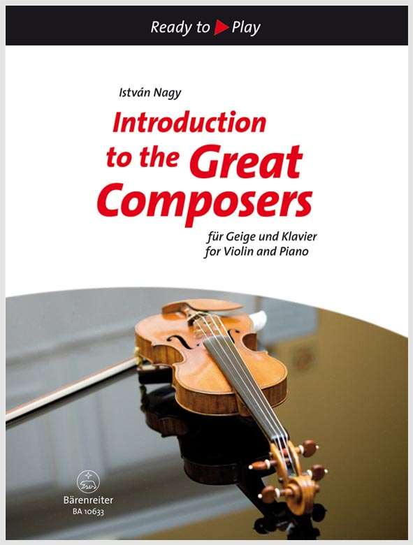 Introduction to the Great Composers pro housle a klavír
