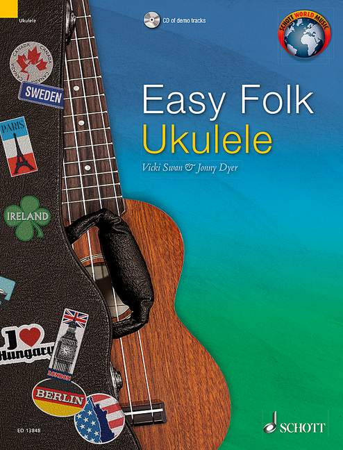 Easy Folk Ukulele - 29 Traditional Pieces