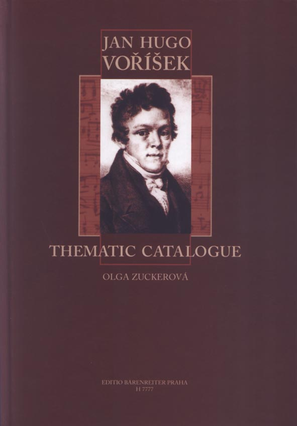 Jan Hugo Voříšek - Thematic Catalogue