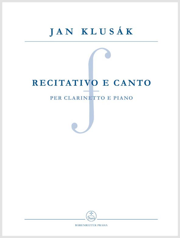 Recitativo e canto per clarinetto e piano